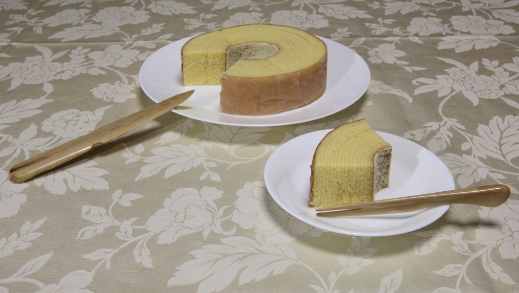 Rose Cake Knife and Fork:バラのケーキナイフ・ケーキフォーク