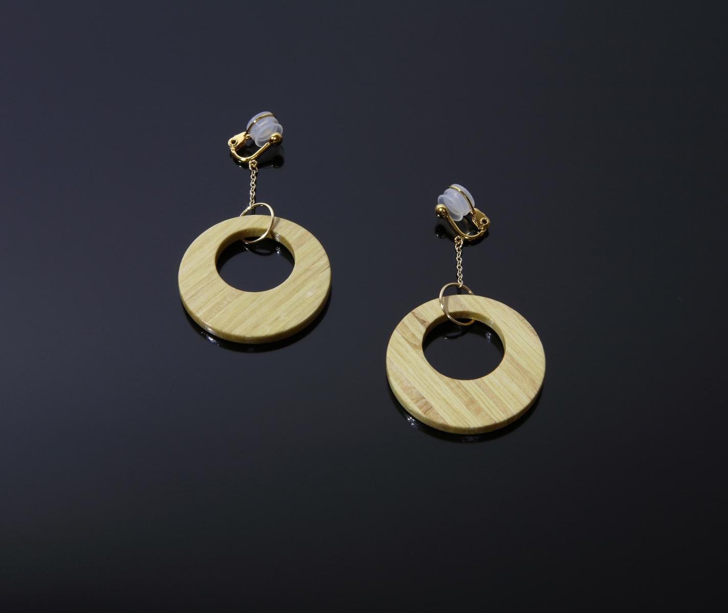 Rose Earrings 01:バラのイヤリング 1
