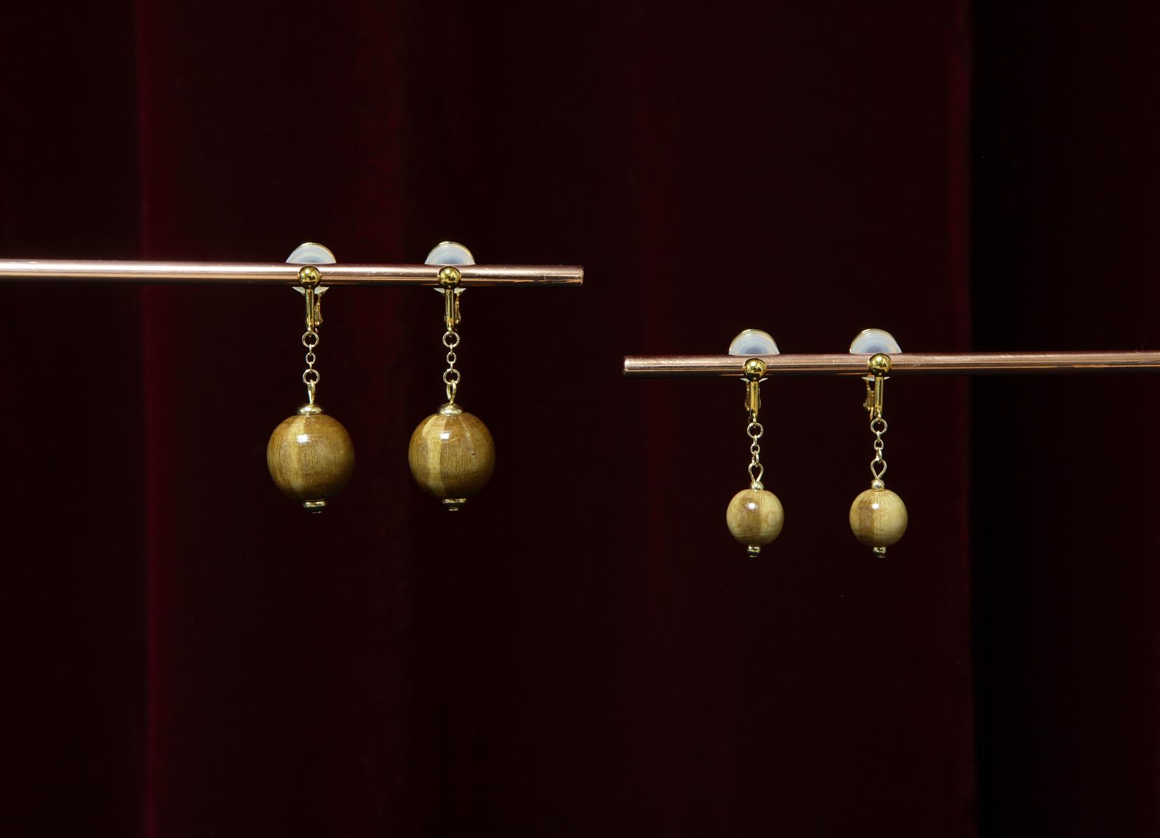 Rose Earrings 02:バラのイヤリング 2
