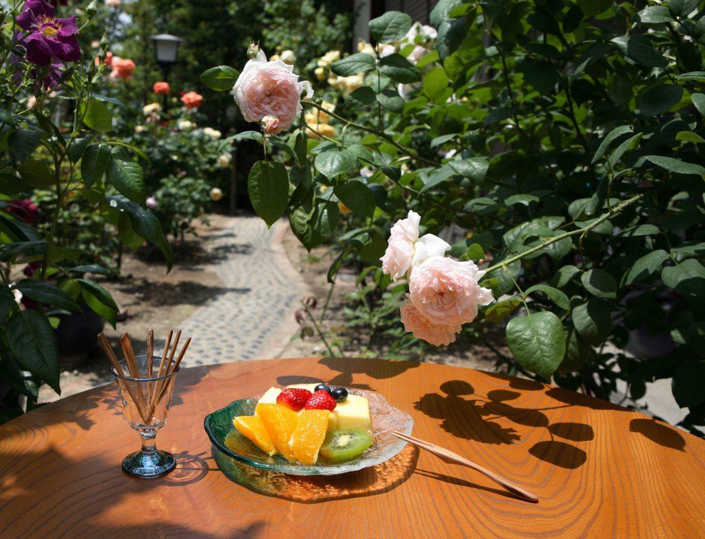 Rose Fruit Fork 01:バラのフルーツピック 1