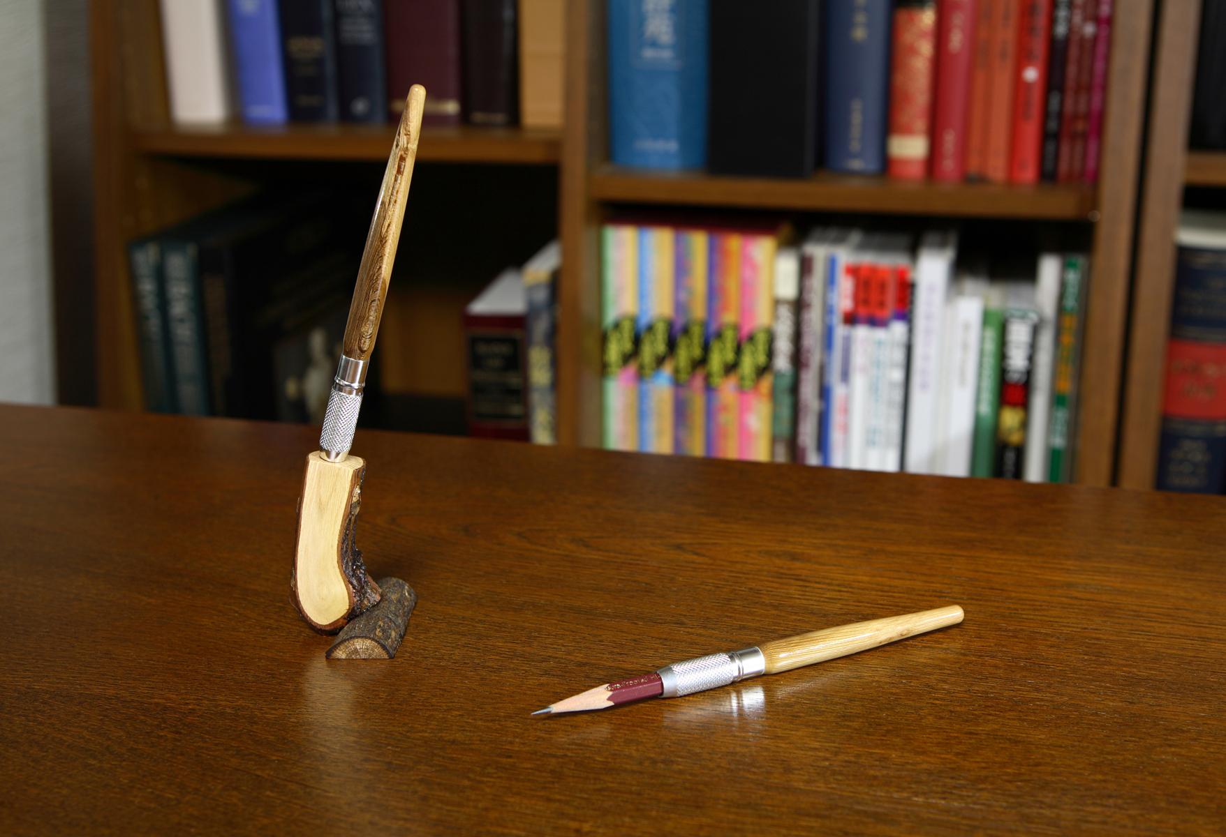 Rose Pencil Extender 01:バラの鉛筆補助軸 1