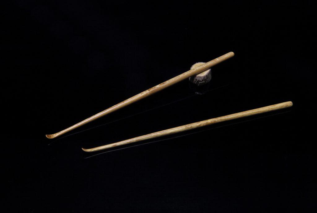 ナンテン(南天)による木工芸:耳かき
